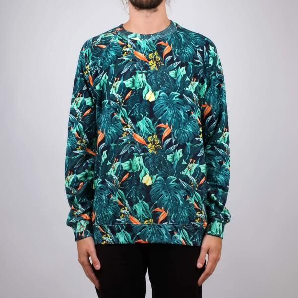 dedicated SWEATSHIRT MALMOE JUNGLE LOV11486 1