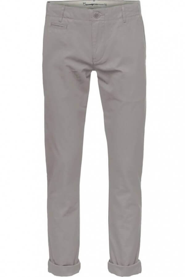 KnowledgeCotton Apparel CHINO CHUCK ALLOY GRAU LOV11870 1