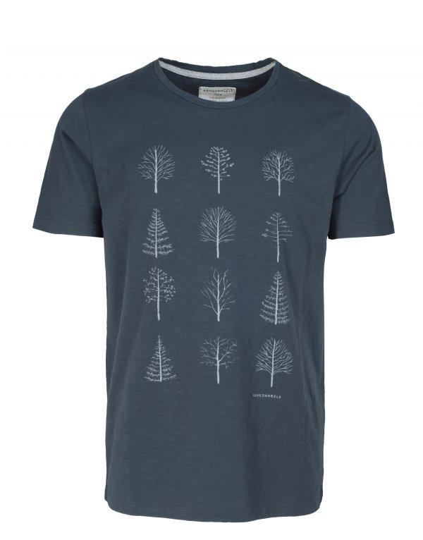 armedangels-t-shirt-deantreegrid-blueberryblue