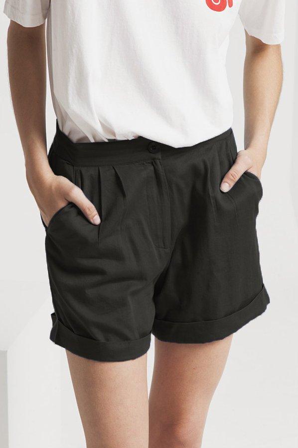 Shorts Mamma Grau