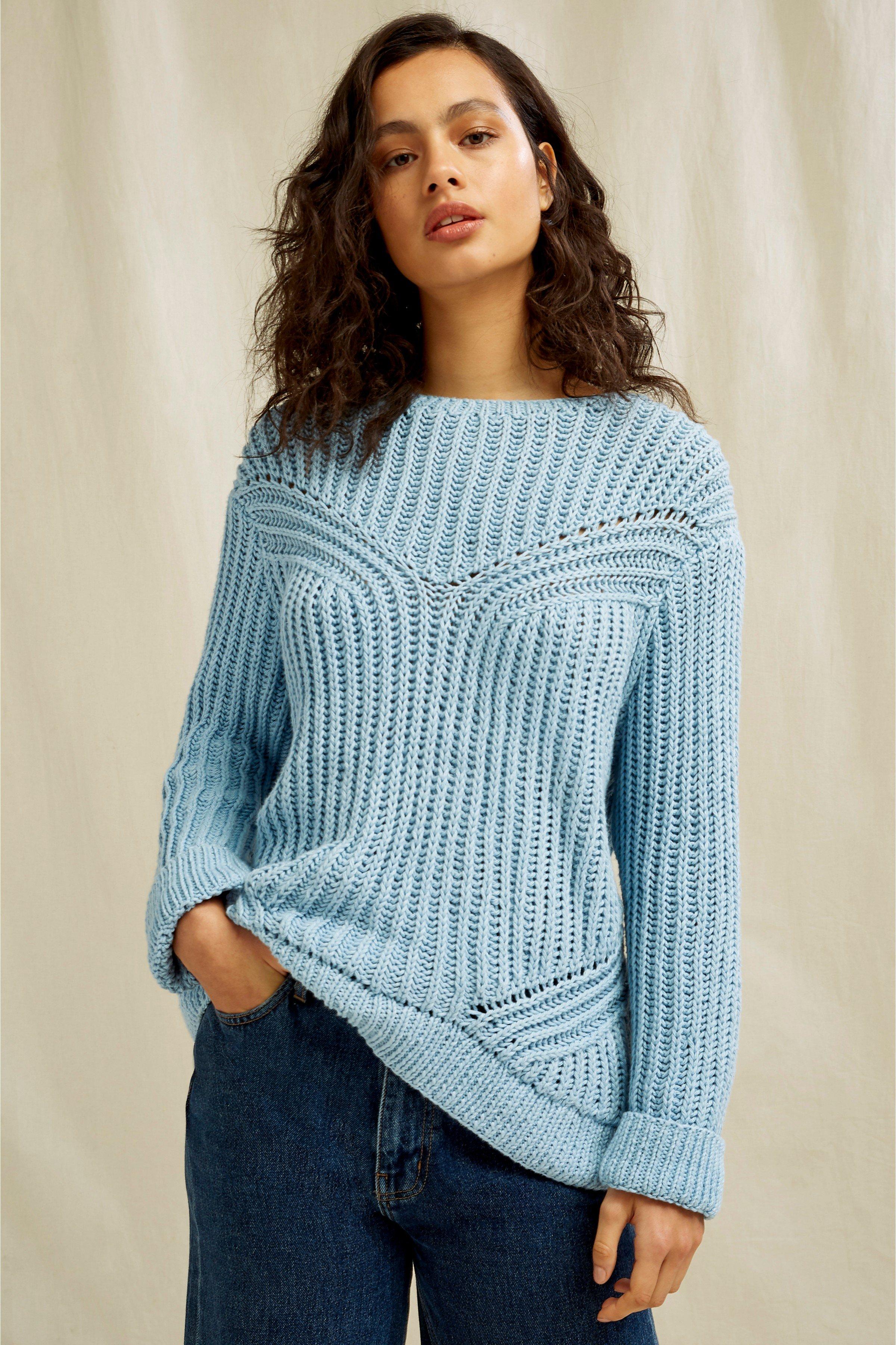 Pullover Corinne Blau