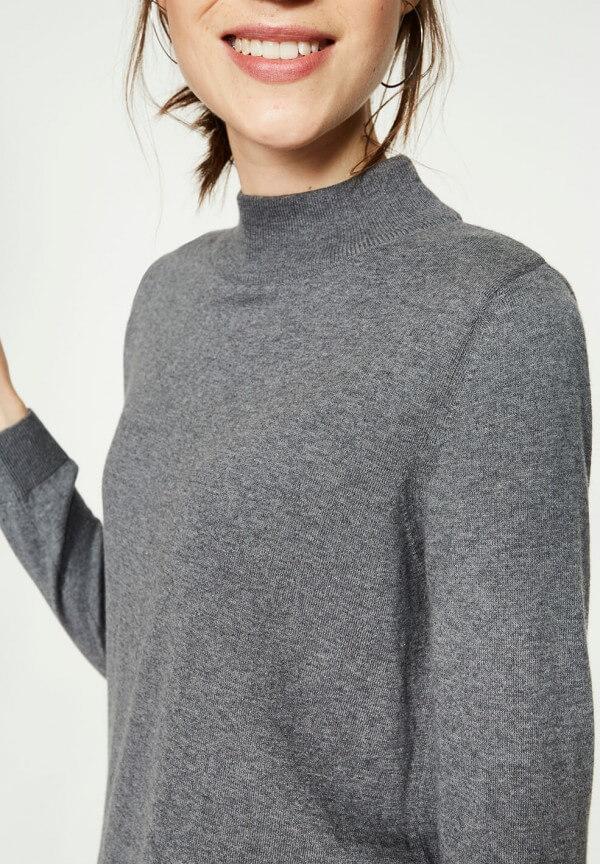 Pullover Isadora Mid Grey Melange
