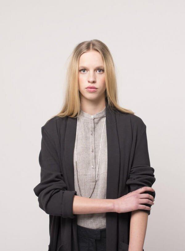 studiojux-long-jersey-cardigan-black
