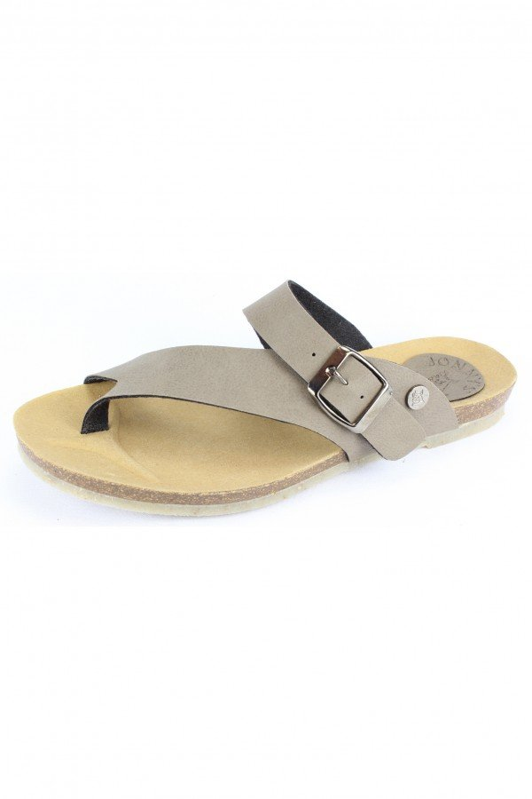 Johnny's Vegan ZEHENTRENNER CHICAGO TAUPE LOV13629 1