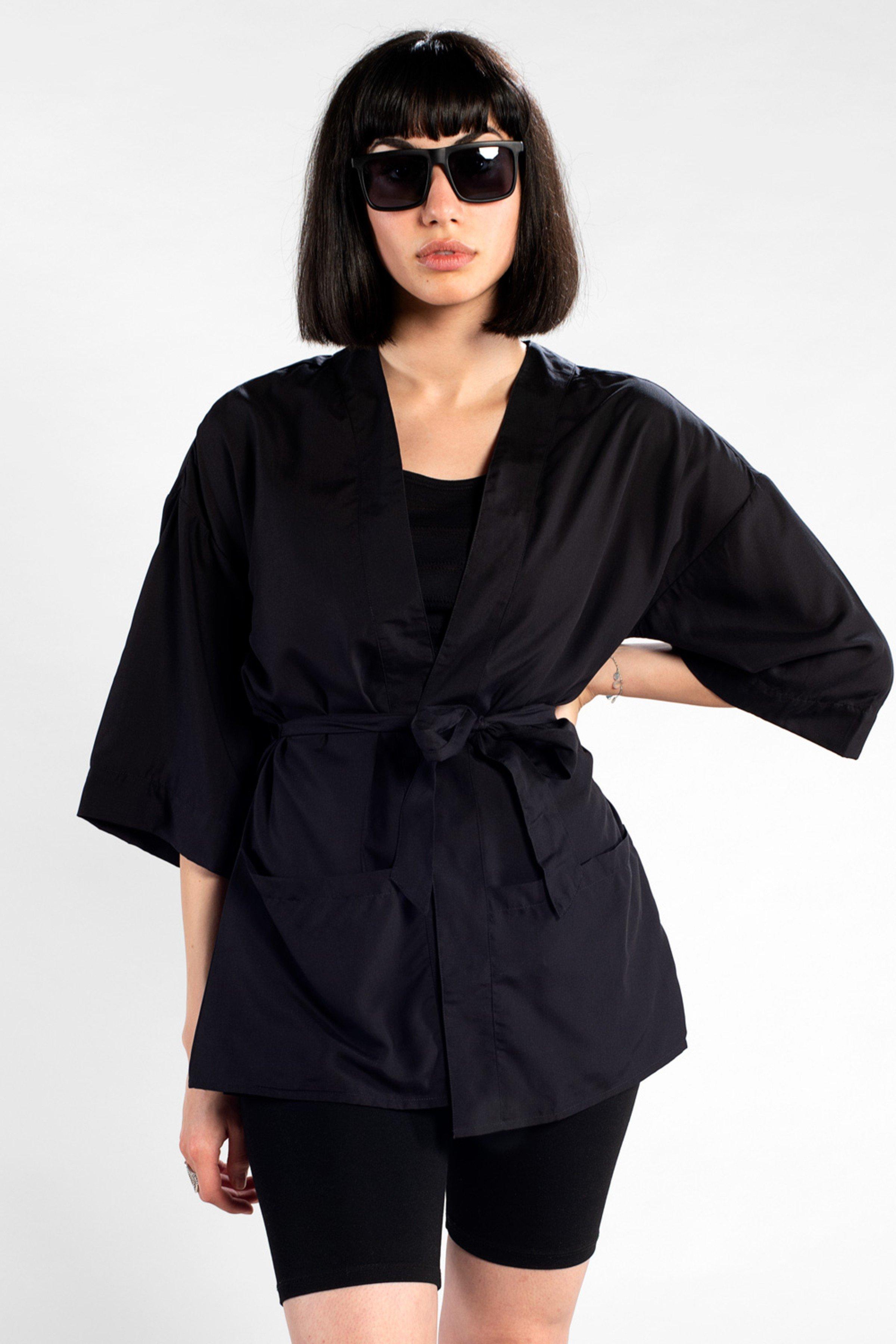 Kimono Viken Schwarz