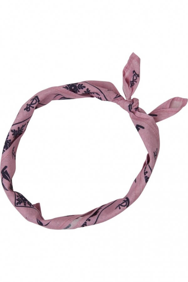 KnowledgeCotton Apparel BANDANA PINK LOV12054 1