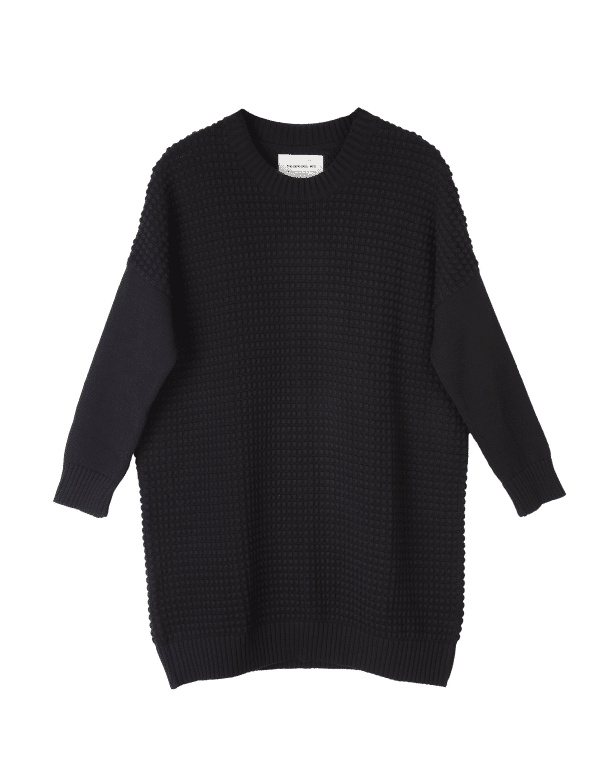 Thinking MU DRESS BIG SQUARE SCHWARZ LOV11595 1