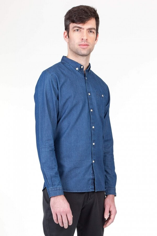 knowledgecottonapparel-denimshirt