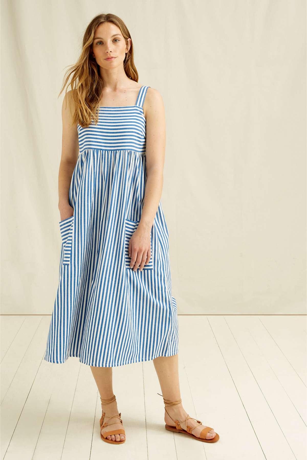 Kleid Luella Stripe Blau