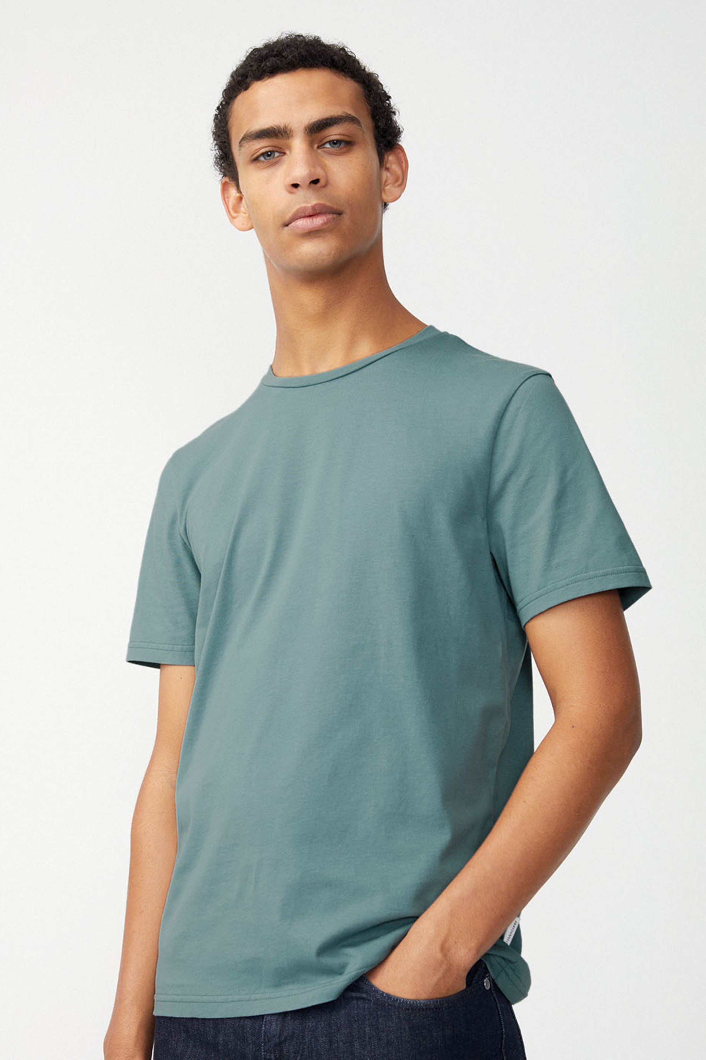 T-Shirt Jaames Steel Blau