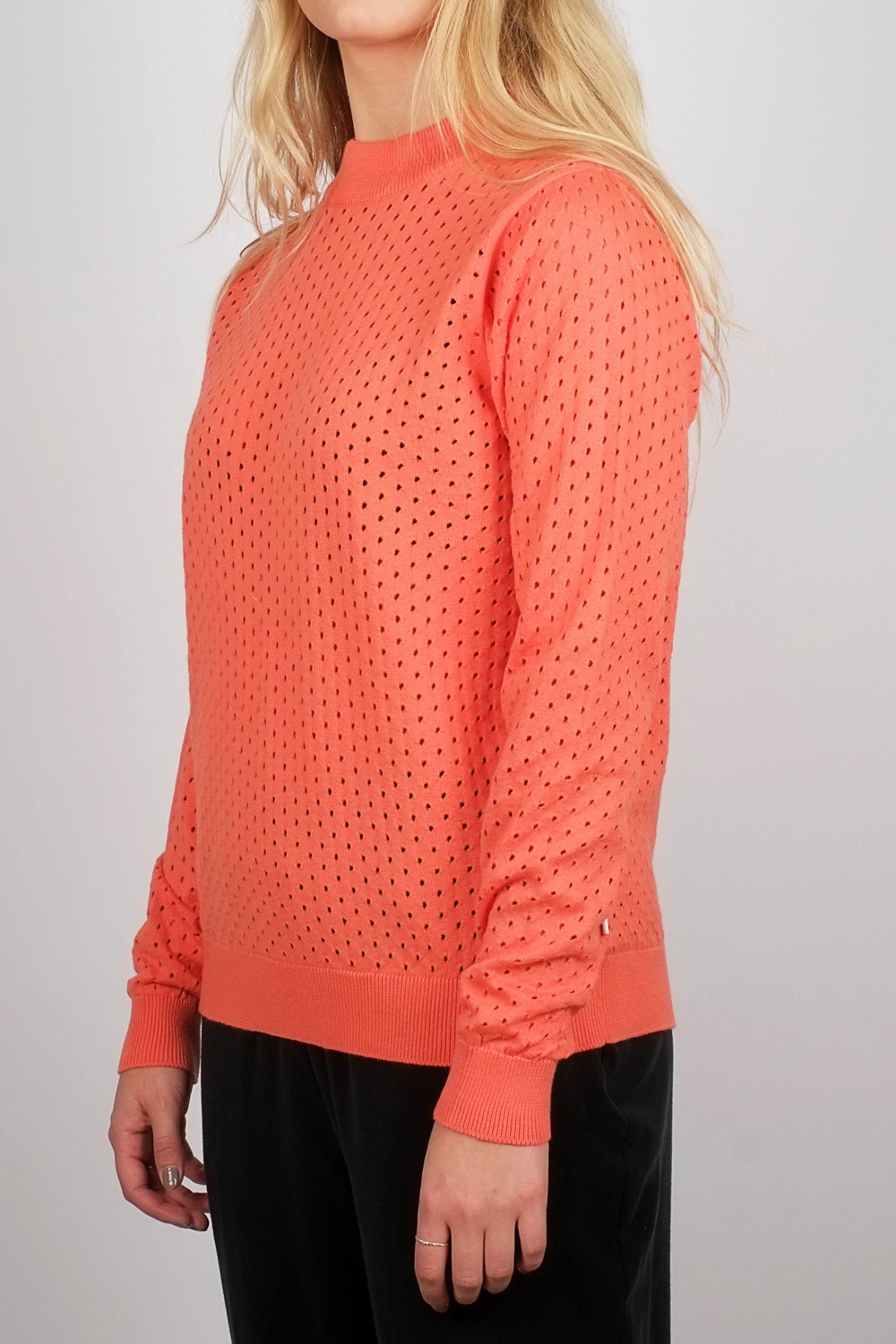 Pullover Viborg Mesh Orange