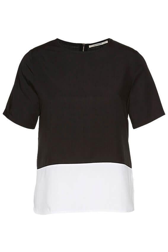wunderwerk-tencel-tee-blouse-black-and-white