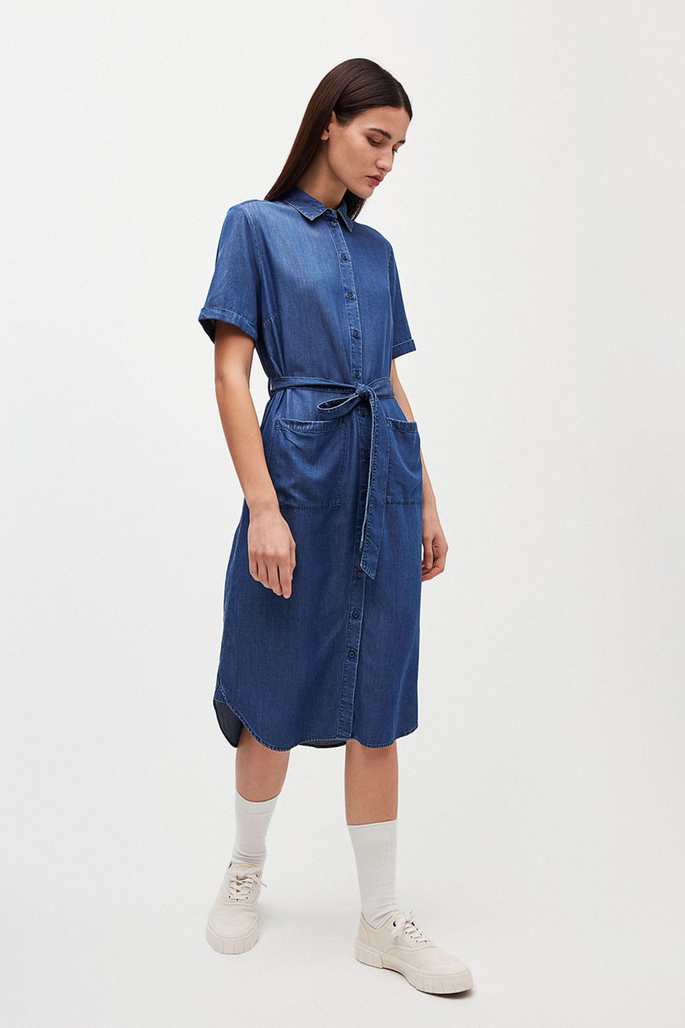 Kleid Maaisa Blau