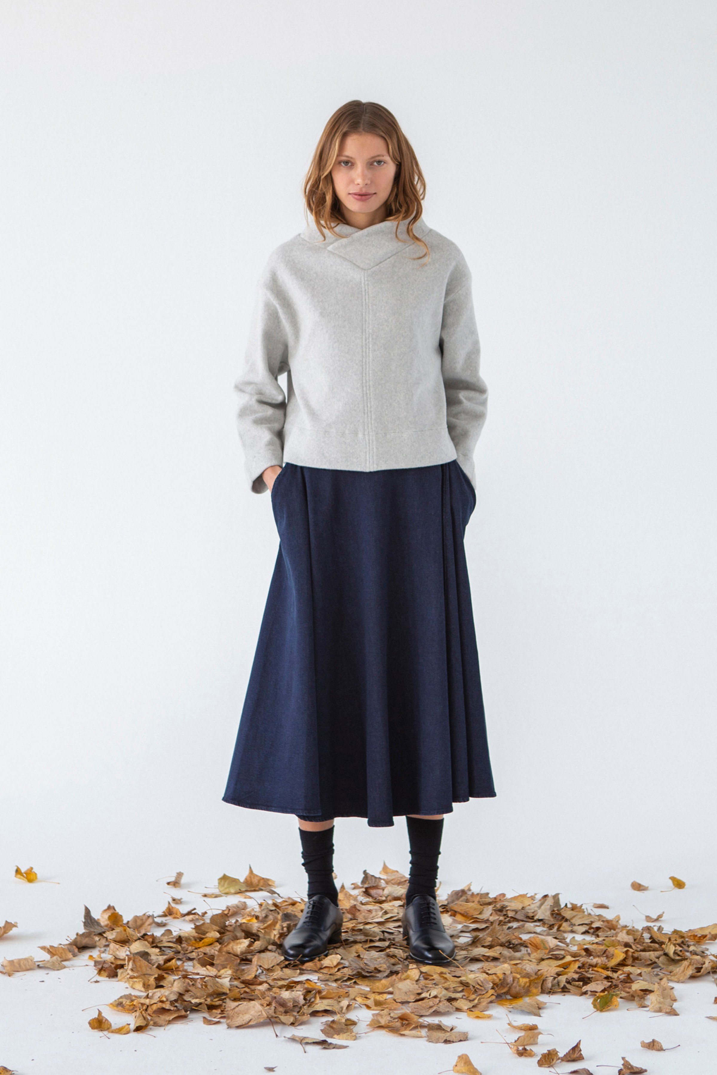 Pullover Biel Grau