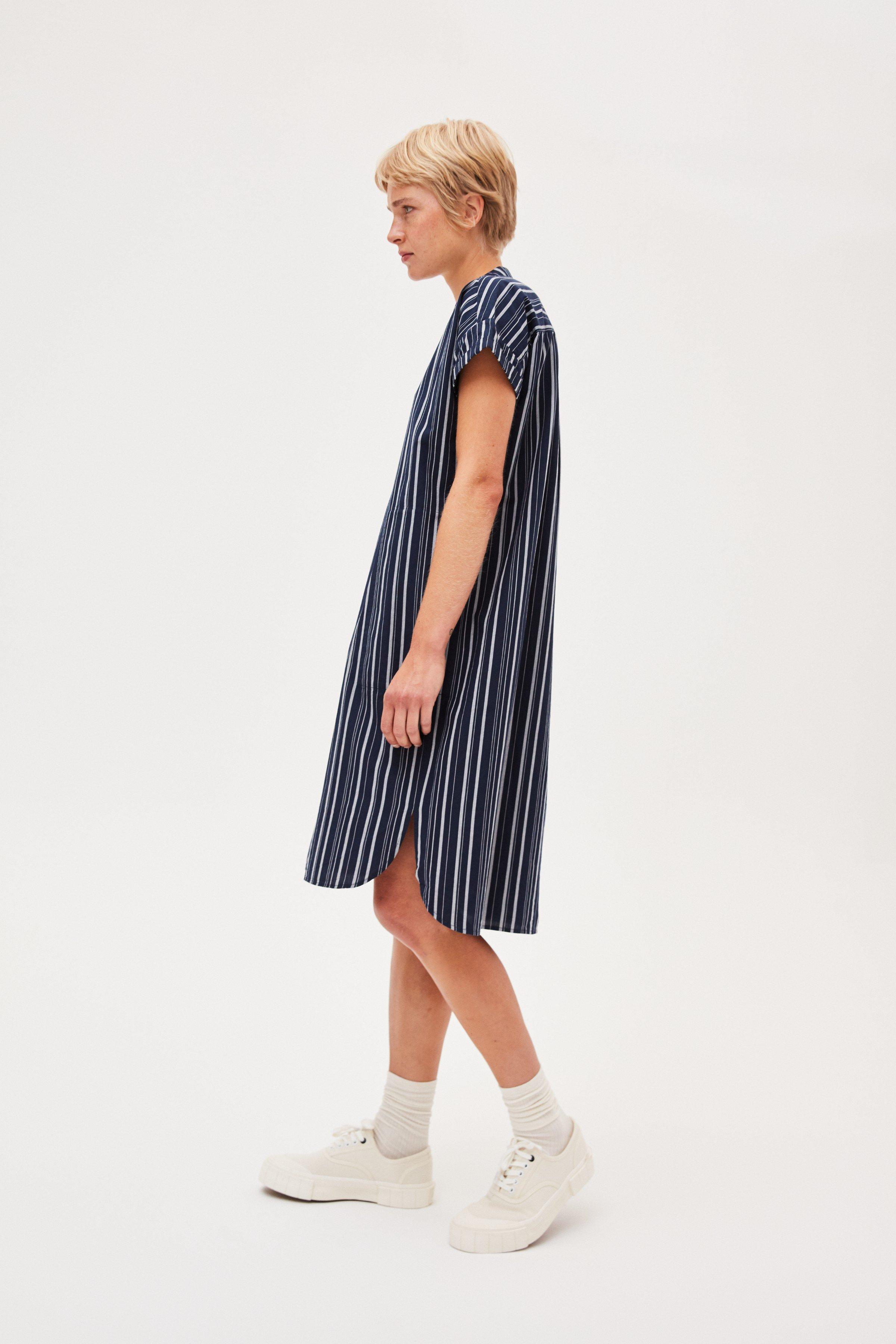 Kleid Myaa Stripes Blau