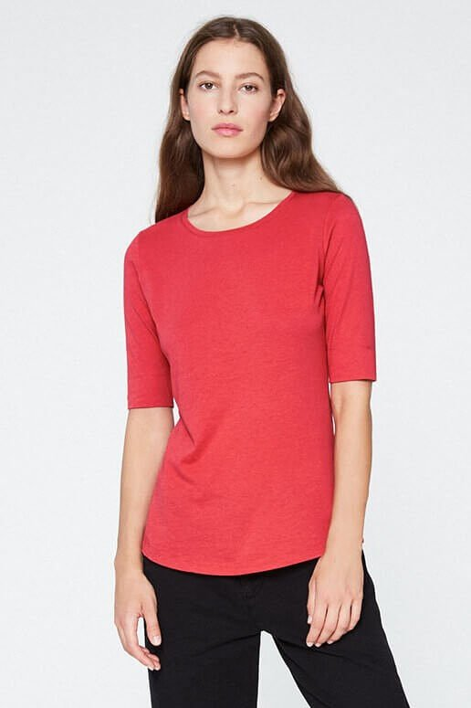 ARMEDANGELS T-SHIRT JANNA APPLE RED LOV12425 6