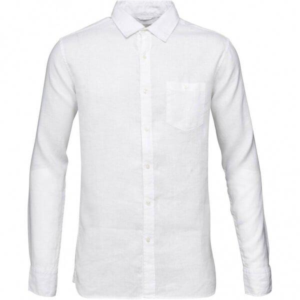 Bild-KnowledgeCottonApparel-GarmentDyedLinenShirt-brightwhite-001