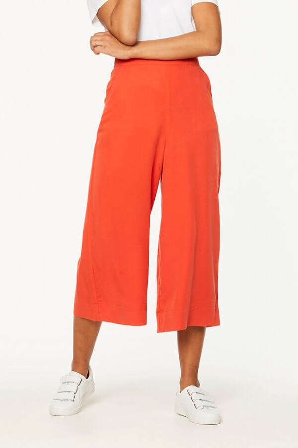 CULOTTE KARLI GLOSSY ORANGE
