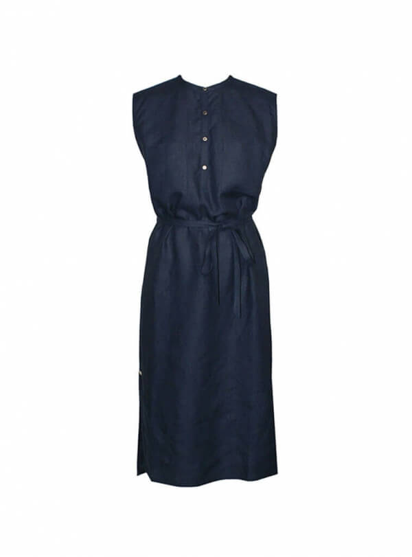 Bild-studiojux-sleevelessmididress-darkblue-001