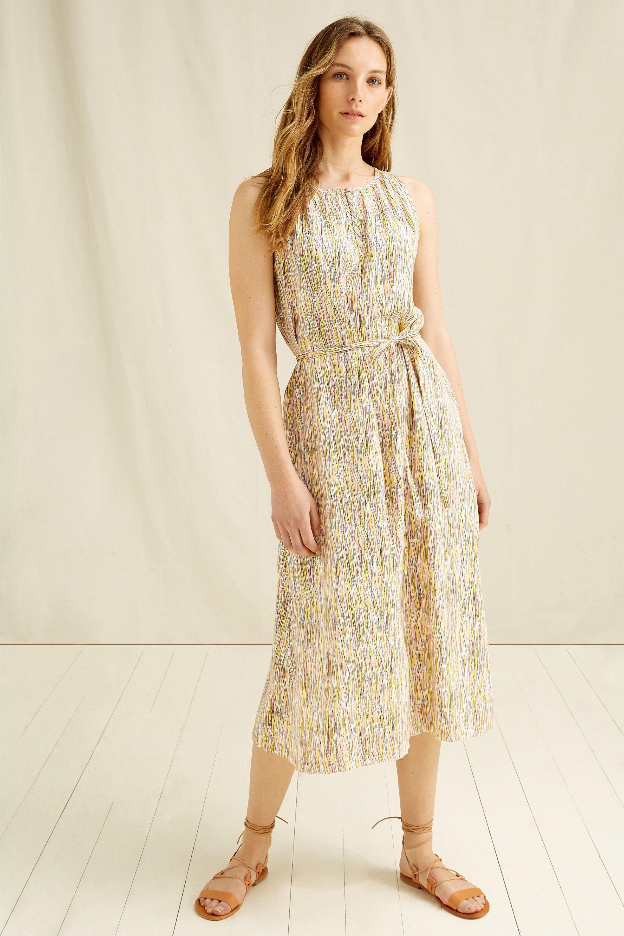 Kleid Agatha Beige