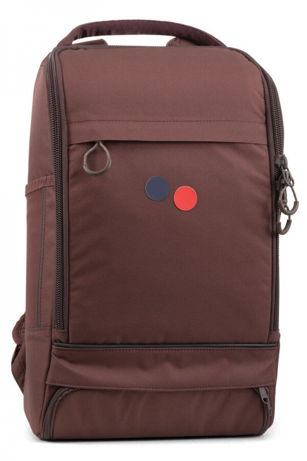 pinqponq RUCKSACK CUBIK MEDIUM MAPLE MAROON LOV12589 1