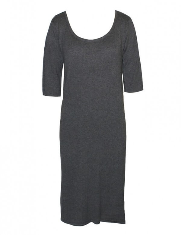 Studio JUX MAXI DRESS DARK GREY LOV11191 1