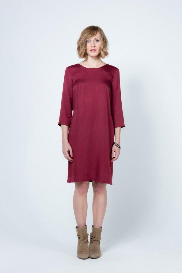 glimpse-dress-kurta-red