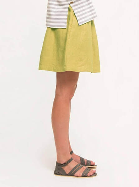 Short Skirt Ochre
