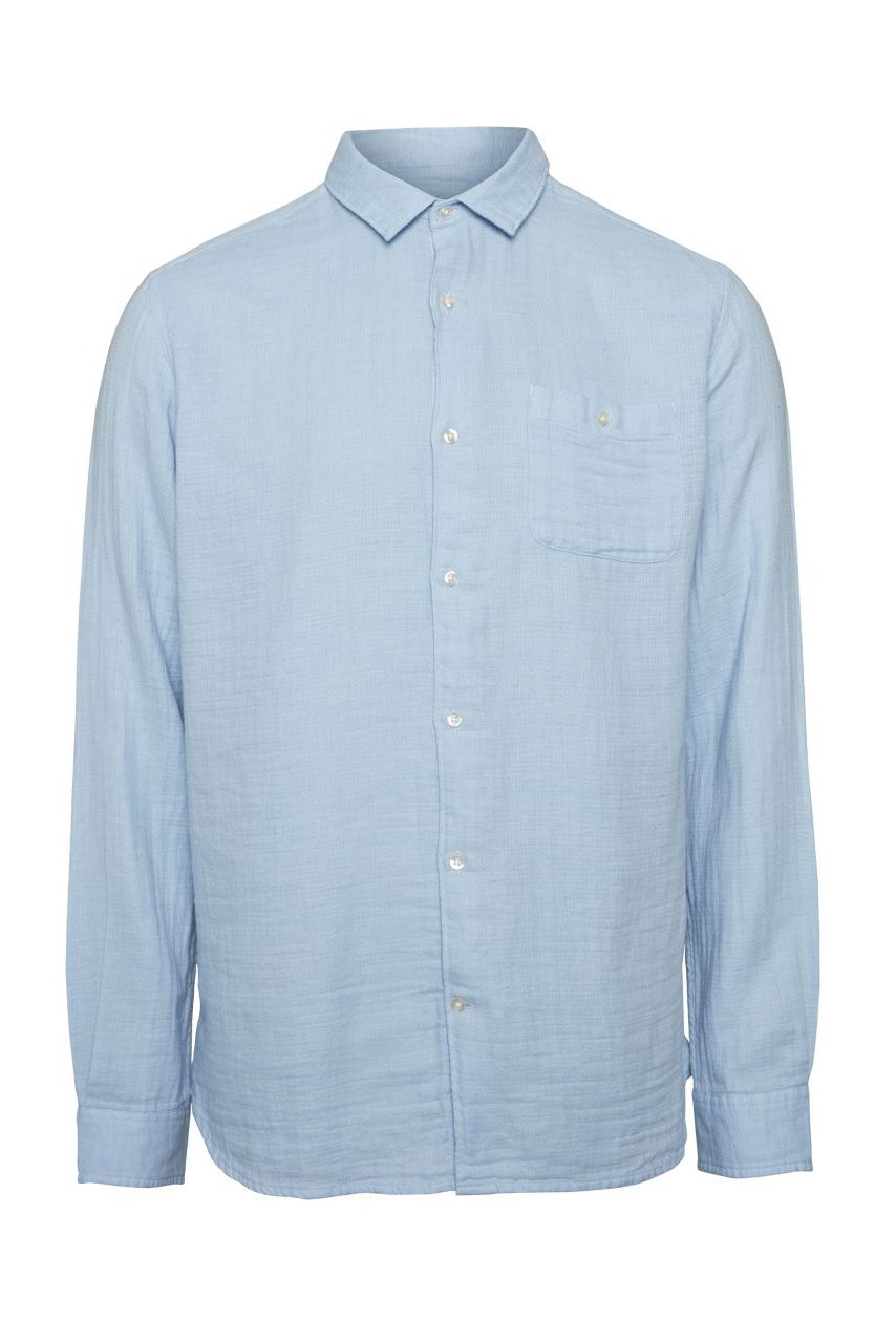 Hemd Double Layer Blau
