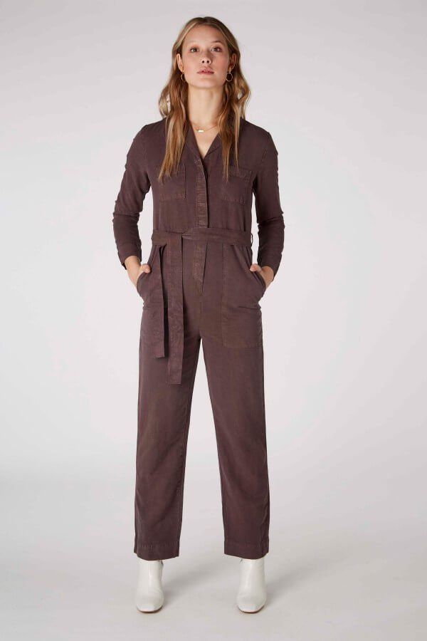 Kings of Indigo JUMPSUIT JANELLE FROSTED FIG LOV12452 1