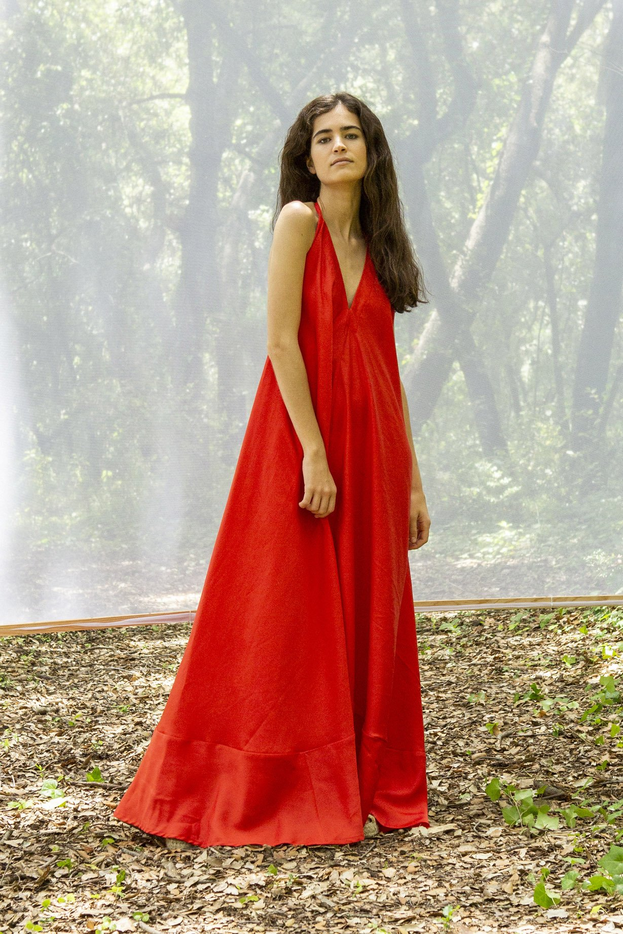 Suite 13 Kleid Daphne Lang Rot Onesize | LOVECO