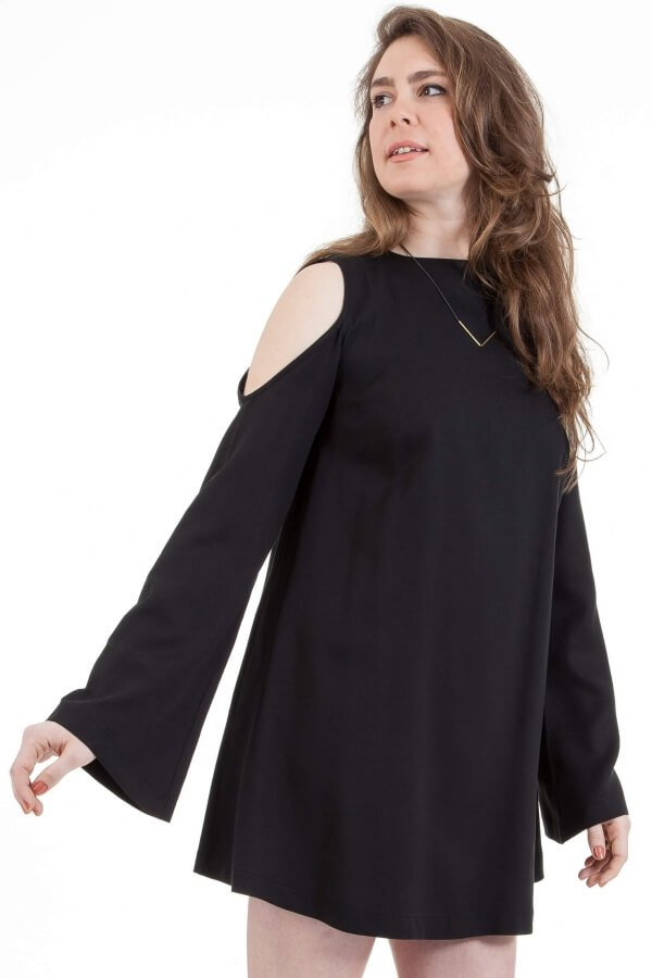 Bild-COSSAC-MiniShiftDress-black-000