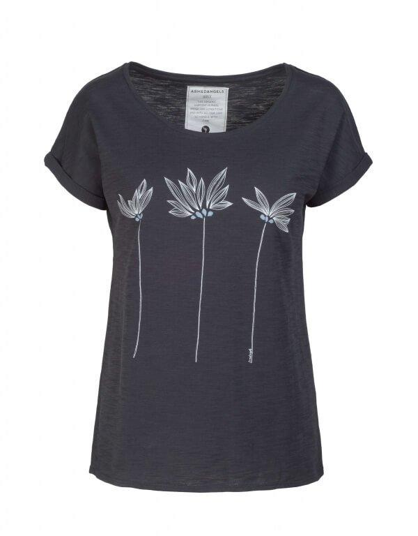 armedangels-tshirt-livcornflower-black