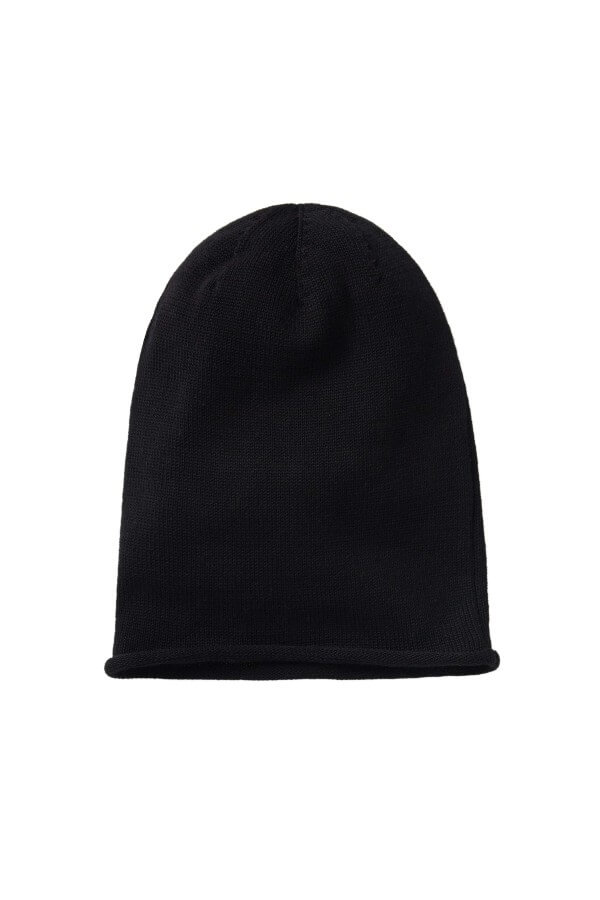 recolution LIGHT KNIT BEANIE BLACK LOV12630 4