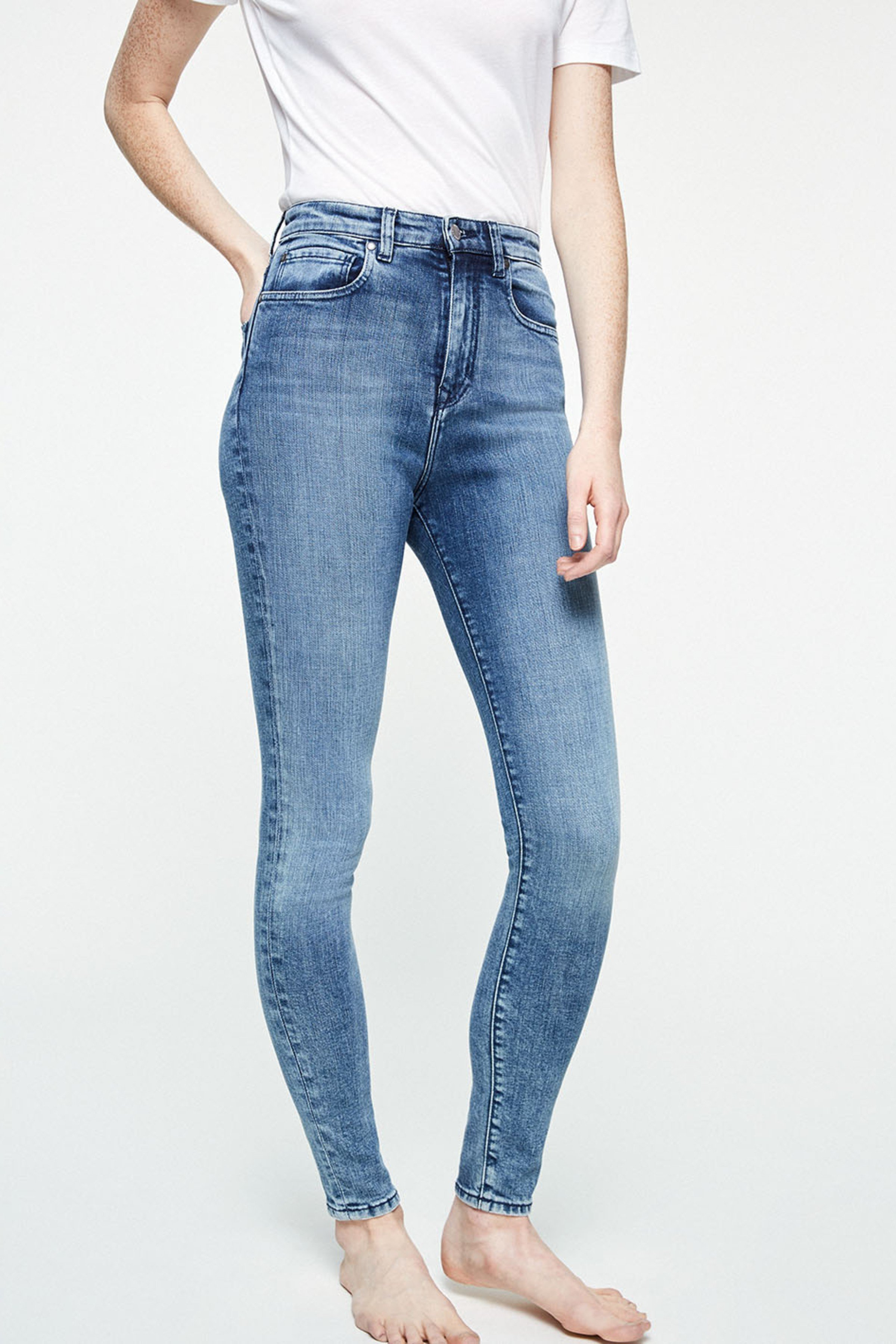 Jeans Ingaa Stone Wash Blau from LOVECO