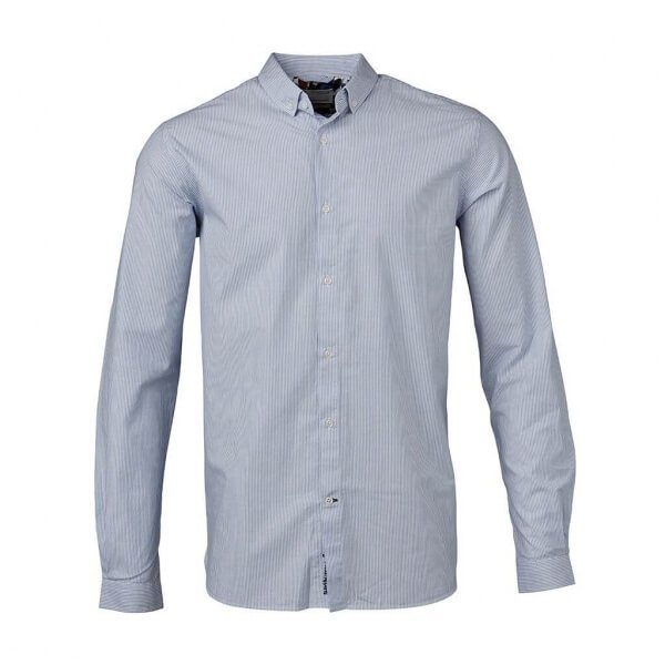 knowledgecottonapparel-narrowstripedshirt