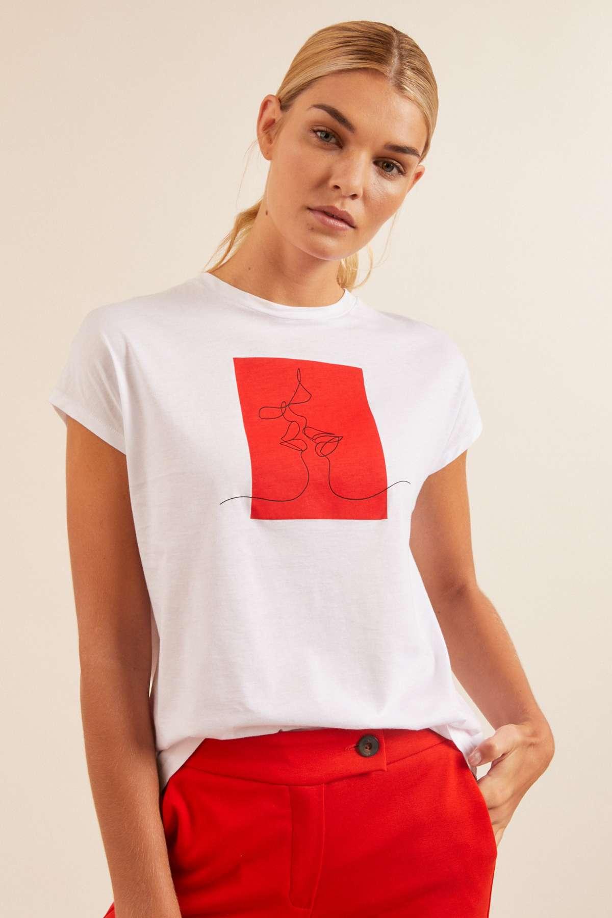 T-Shirt Charity Weiss