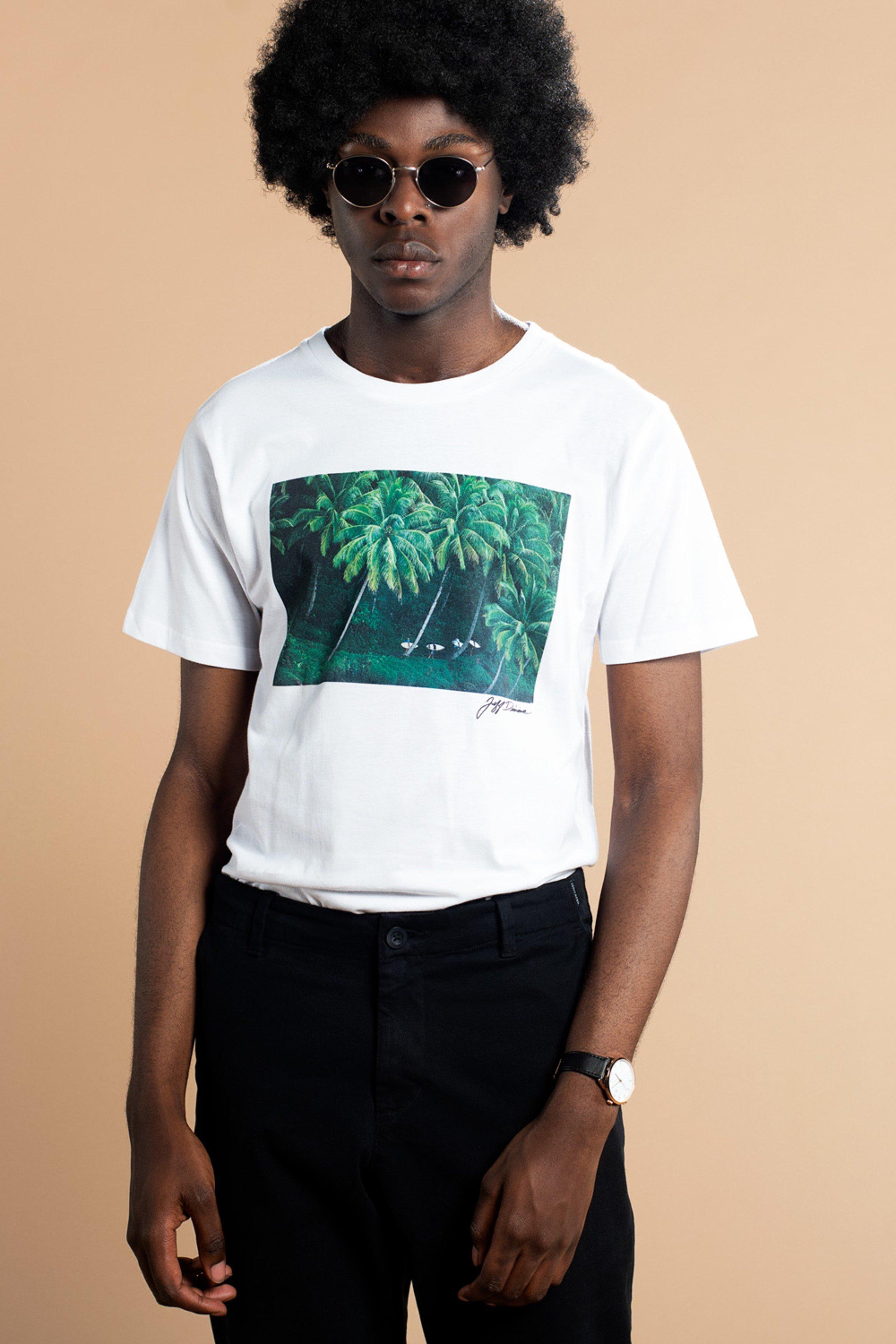 T-Shirt Stockholm Sumatra Weiß