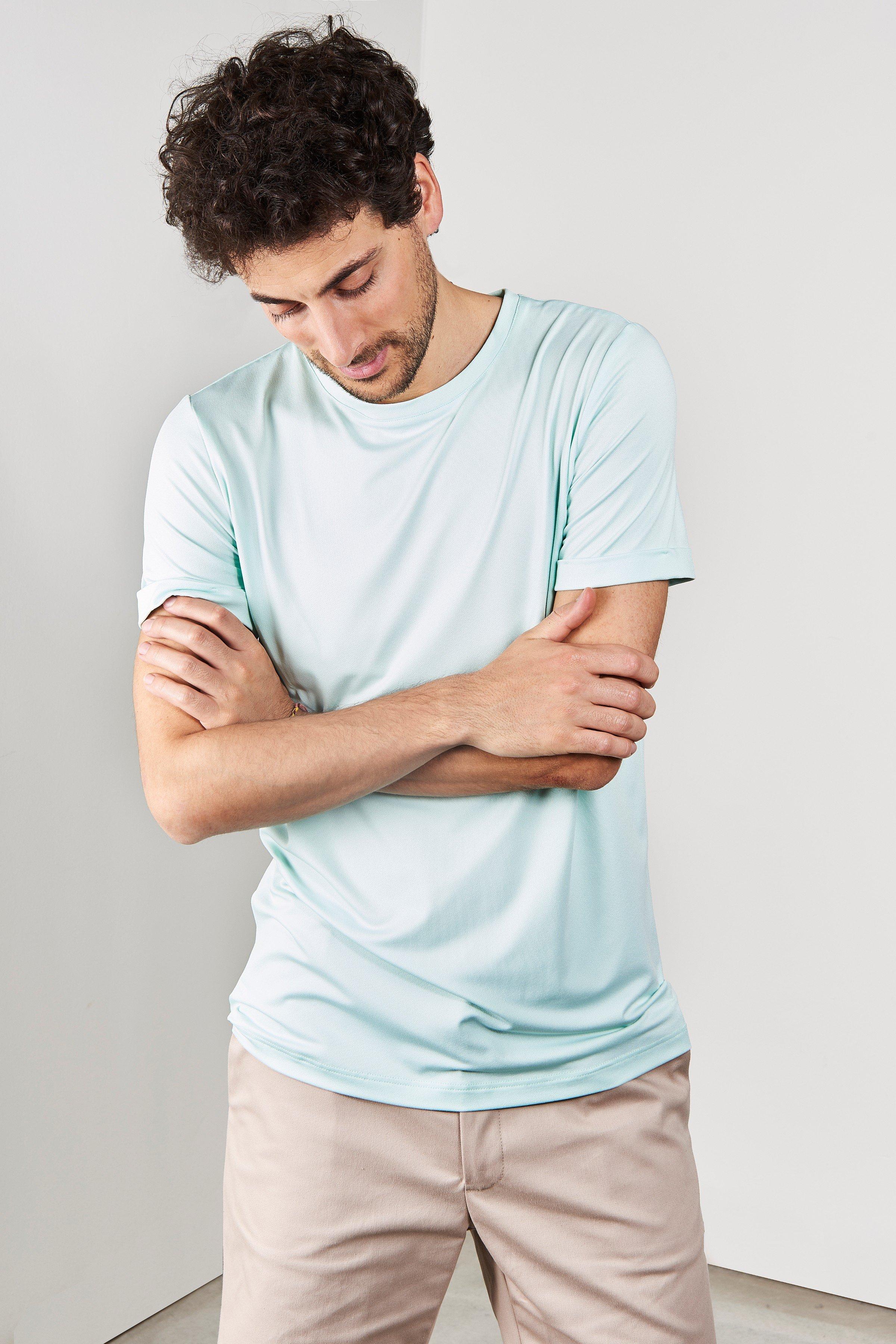 T-Shirt Herren Boy Grün