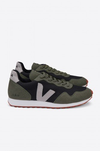 Sneaker Sdu Rec B-Mesh Black Oxford Grey Olive