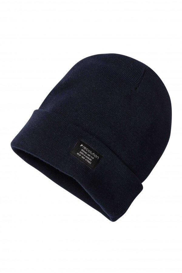 Mütze Knit Beanie Navy