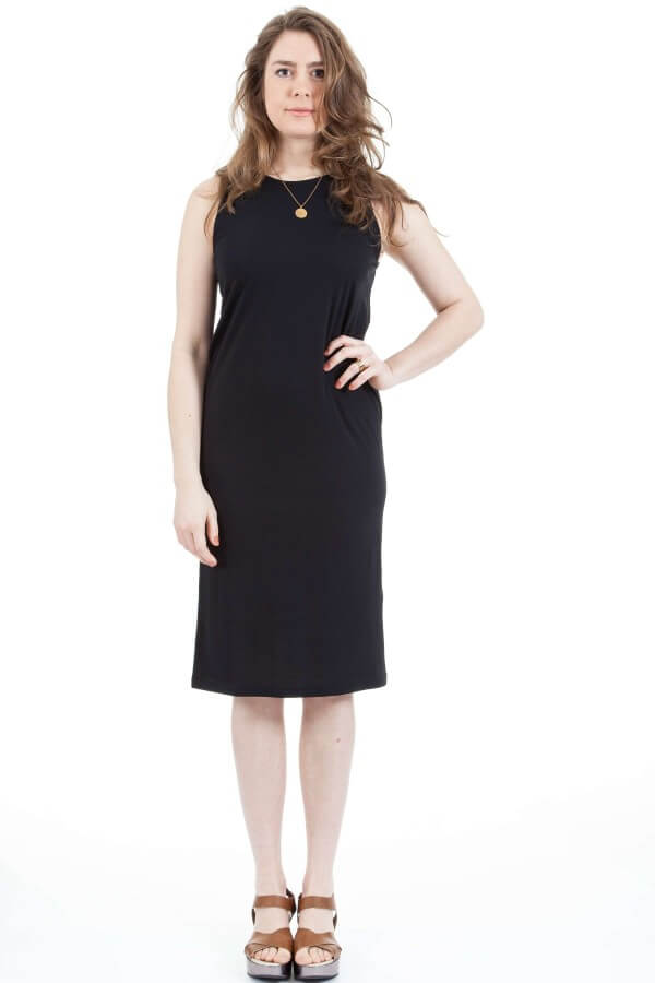 Bild-wunderwerk-BackLayeredMidiDress-black-001