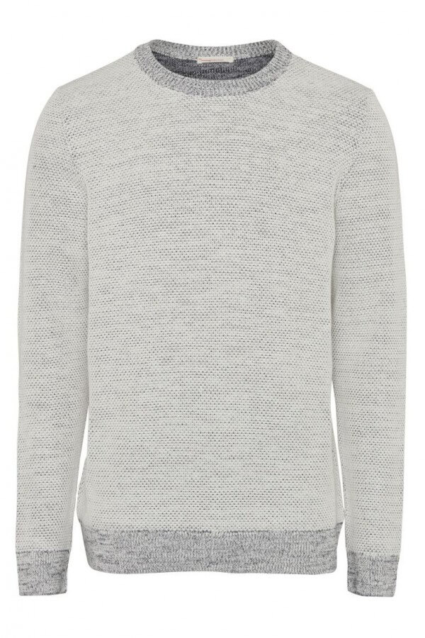 KnowledgeCotton Apparel PULLOVER O-NECK KNIT WEISS LOV13117 1