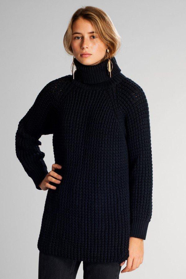 dedicated Pullover Oslo Schwarz LOV13997 1