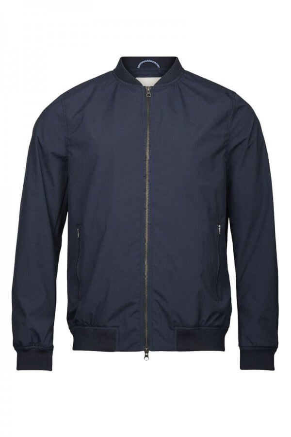 KnowledgeCotton Apparel FUNCTIONAL BOMBER JACKET TOTAL ECLIPSE LOV12268 1