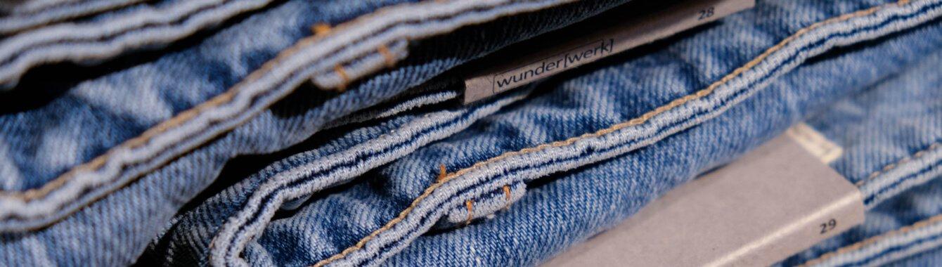 Jeans aus Biobaumwolle