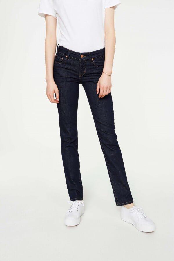 Jeans Luma Straight Fit Rinse Blau