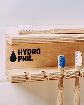 Zahnbürsten ohne Plastik von hydrophil