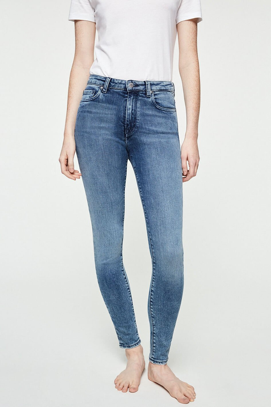 Jeans Tillaa Stone Wash Blau from LOVECO