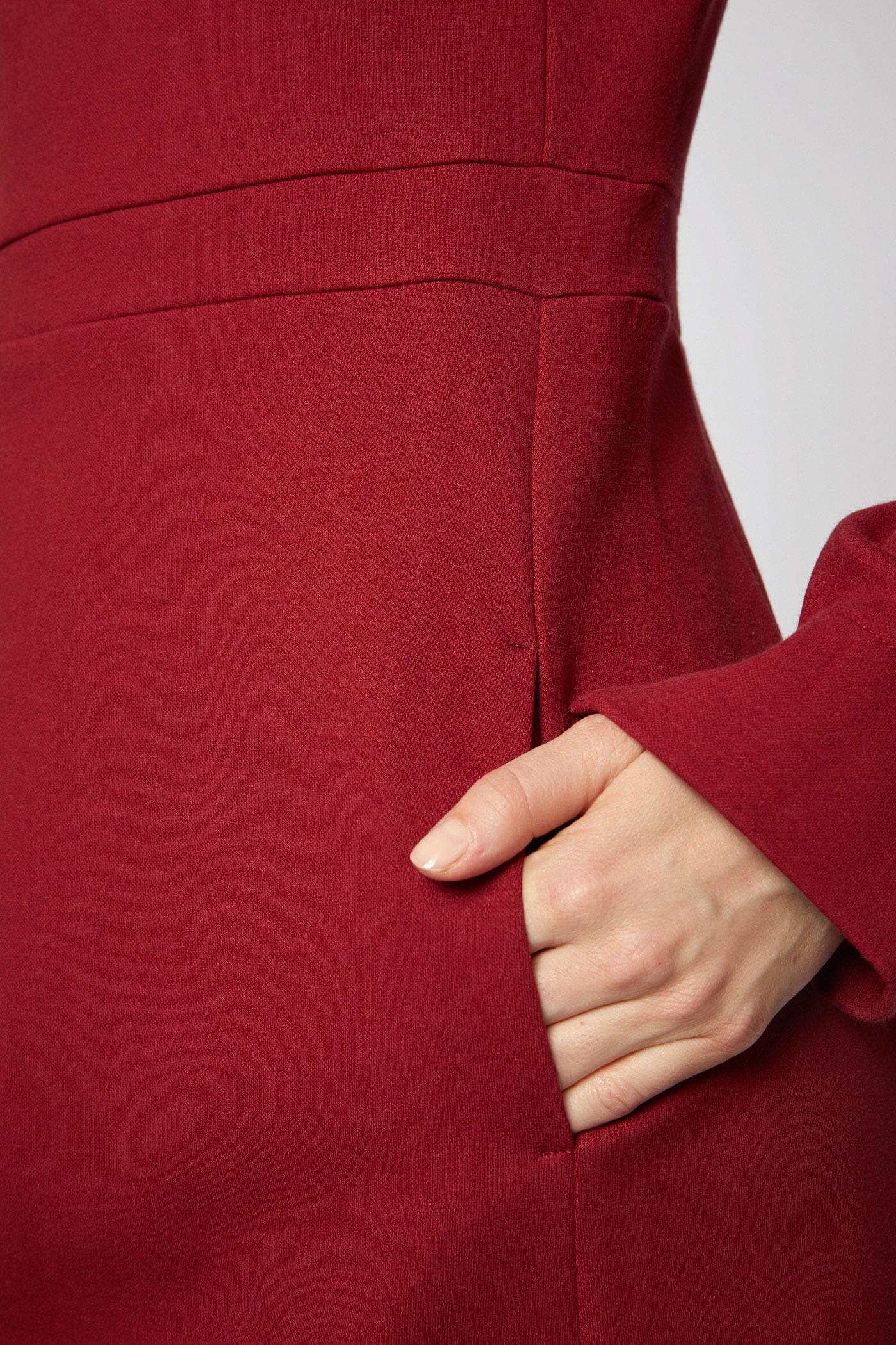 Lanius Kleid Etui Rot | LOVECO